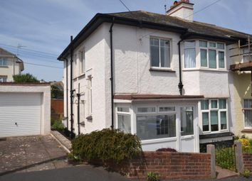 Thumbnail 3 bed semi-detached house to rent in Redhills, Budleigh Salterton, Devon