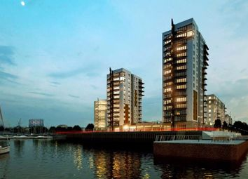 Thumbnail 2 bedroom flat for sale in Peninsula Quay, Victory Pier, Gillingham