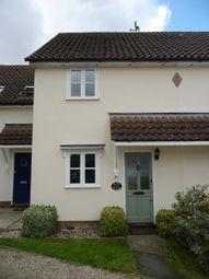 Thumbnail 2 bedroom terraced house to rent in Deben Rise, Debenham, Stowmarket