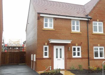 Thumbnail 3 bed semi-detached house to rent in Canterbury Drive, Littleover, Derbyshire