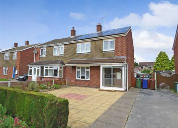 Thumbnail 3 bed semi-detached house for sale in Barnard Way, Cannock, Staffordshire