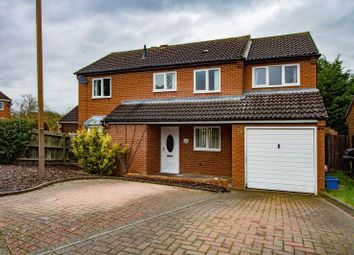 Thumbnail 4 bed detached house for sale in Vyne Crescent, Great Holm, Milton Keynes