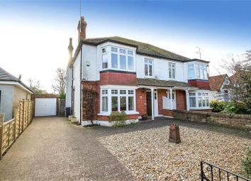 Thumbnail 4 bed semi-detached house for sale in Pevensey Road, West Worthing, West Sussex