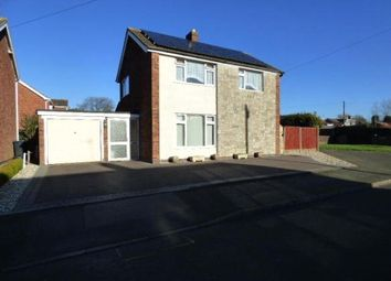 Thumbnail 3 bed detached house for sale in Willow Close, Newbold Verdon, Leicsester