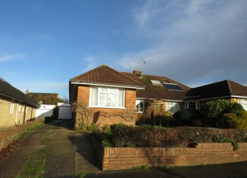 Thumbnail 2 bed semi-detached bungalow for sale in Morelands Road, Purbrook, Waterlooville