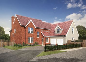 Thumbnail 5 bedroom detached house for sale in Bucklesham Road, Foxhall, Ipswich, Suffolk