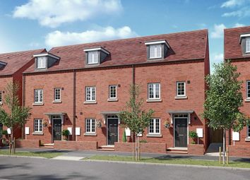 "Thumbnail 4 bed terraced house for sale in ""Woodcote"" at Kempton Close, Chesterton, Bicester"