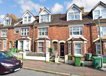 Thumbnail 3 bed terraced house for sale in Garden Road, Folkestone, Kent