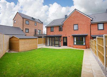 "Thumbnail 4 bed semi-detached house for sale in ""Sandborough"" at Dunnock Lane, Cottam, Preston"