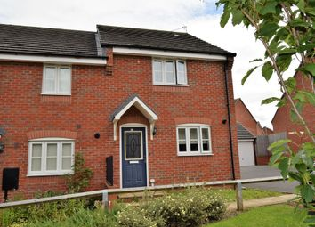 Thumbnail 3 bed end terrace house for sale in Thornborough Way, Hamilton, Leicester