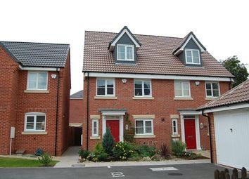 Thumbnail 4 bedroom town house to rent in Parkway, Chellaston, Derby