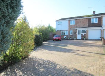 Thumbnail 4 bed semi-detached house for sale in Beaumont Vale, Haverhill