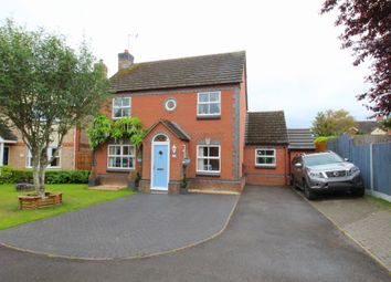 Thumbnail 4 bed detached house for sale in Willis Close, Chippenham