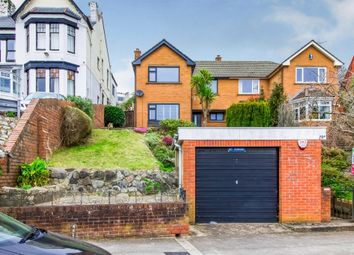 Thumbnail 4 bed semi-detached house for sale in Porthkerry Road, Barry