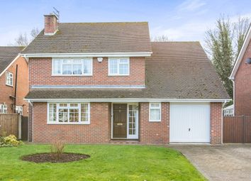 Thumbnail 4 bed detached house for sale in Jodrell Close, Holmes Chapel, Crewe