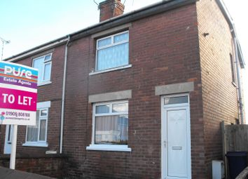 Thumbnail 2 bed semi-detached house to rent in Clinton Street, Worksop