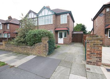 Thumbnail 3 bed semi-detached house for sale in Bruce Avenue, Warrington