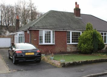 Thumbnail 3 bed semi-detached bungalow for sale in Ladyhouse Close, Milnrow, Rochdale