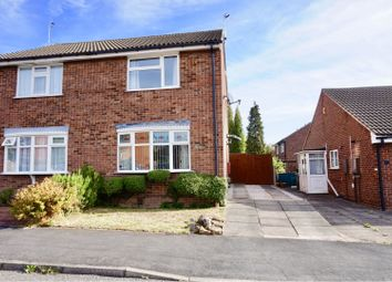 Thumbnail 2 bed semi-detached house for sale in Trueway Drive South, Loughborough
