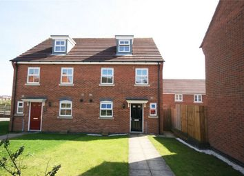 Thumbnail 3 bed semi-detached house for sale in Robinson Way, Wootton, Northampton