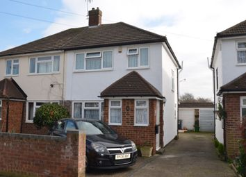 Thumbnail 3 bed semi-detached house for sale in Armstrong Road, Feltham