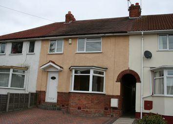 Thumbnail 3 bed terraced house to rent in Pritchett Road, Birmingham