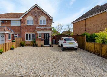 Thumbnail 3 bedroom semi-detached house for sale in Meadowsweet, Horsford, Norwich