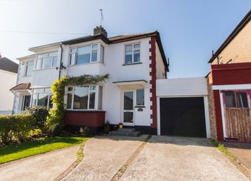 Thumbnail 3 bed semi-detached house for sale in Danesleigh Gardens, Leigh-On-Sea