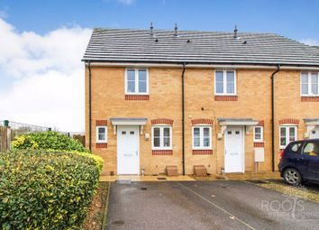 Thumbnail 2 bed end terrace house for sale in The Firs, Newbury