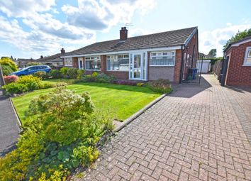 Thumbnail 3 bed semi-detached bungalow for sale in Byland Avenue, Cheadle Hulme, Cheadle