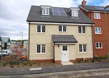 Thumbnail 4 bedroom detached house for sale in Church Crookham, Fleet