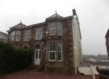 Thumbnail 2 bed flat to rent in Clinton Road, Redruth