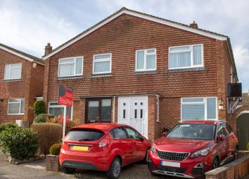 Thumbnail 4 bed semi-detached house for sale in Field Gardens, East Challow, Wantage