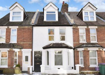 Thumbnail 4 bed terraced house for sale in Athelstan Road, Folkestone, Kent