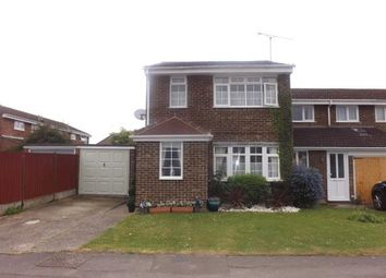 Thumbnail 3 bed end terrace house for sale in Petunia Crescent, Springfield, Chelmsford