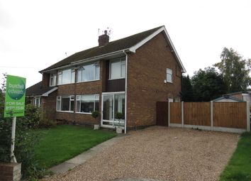 Thumbnail 3 bed semi-detached house for sale in Lodge Road, Newthorpe, Nottingham
