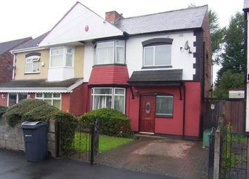 Thumbnail 3 bedroom semi-detached house for sale in Thornton Rd, Ward End, Birmingham, West Midlands