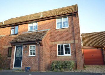 Thumbnail 3 bed semi-detached house for sale in Highfields, New Costessey, Norwich, Norwich