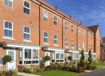 """Thumbnail 4 bedroom terraced house for sale in """"Hythe"""" at Broughton Crossing, Broughton, Aylesbury"""