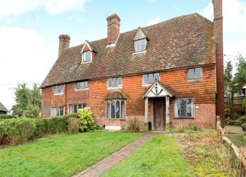Thumbnail 5 bed semi-detached house for sale in Hoath Corner, Chiddingstone Hoath, Kent