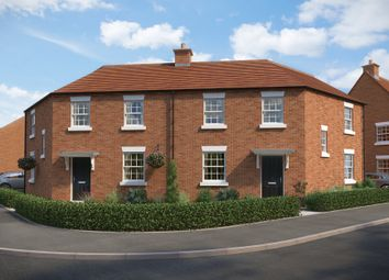 "Thumbnail 3 bed semi-detached house for sale in ""Kersey"" at The Leyes, Deddington, Banbury"