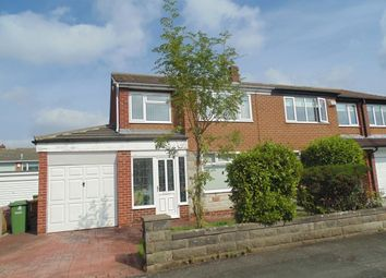 Thumbnail 3 bed semi-detached house to rent in Scampton Close, Thornaby, Stockton-On-Tees