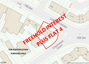 Thumbnail Studio for sale in Freehold Interest And Flat 4, Charnwood Court, London Road, Coalville