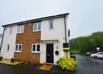 Thumbnail 3 bed semi-detached house to rent in Waterside Road, Wellingborough