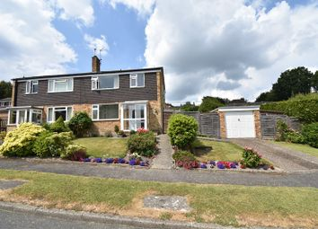Thumbnail 3 bed semi-detached house for sale in Saxonbury Close, Crowborough
