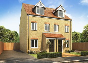 "Thumbnail 3 bed semi-detached house for sale in ""The Souter "" at Highclere Drive, Sunderland"