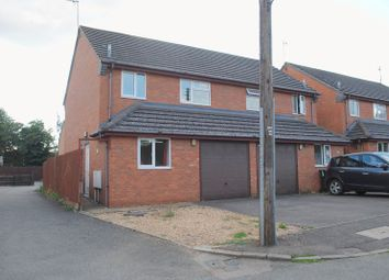 Thumbnail 3 bed semi-detached house for sale in Spinney Road, Irthlingborough, Wellingborough