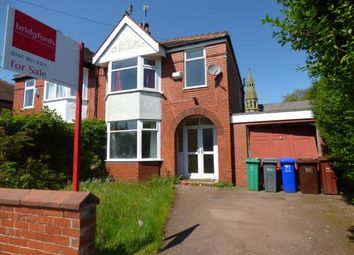 Thumbnail 3 bedroom semi-detached house for sale in Vicars Road, Manchester, Greater Manchester