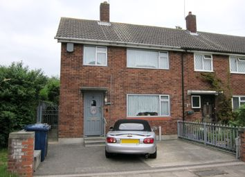 Thumbnail 3 bed end terrace house for sale in Evesham Close, Greenford