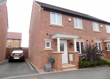 Thumbnail 3 bed semi-detached house to rent in Cowslip Drive, Shepshed